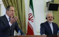 Lavrov and Zarif, advocating for terrible things such as 'evidence'