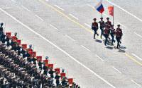 Military parade to mark the 70th anniversary of Victory in the Great Patriotic War of 1941–1945.