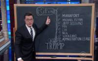 Stephen Colbert, patiently explaining his RussiaGate calculus