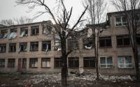 A building in Debaltsevo destroyed by shelling | Photo:  John Trast, Reuters