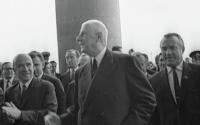 Шарль де Голль в Москве, июнь 1966 года