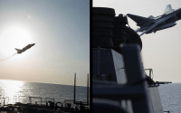 Imagine a Russian ship exercising with Mexico off the coast of Florida