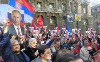 Support for Putin in Serbia