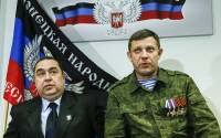 Igor Plotnitsky (L), head of the Lugansk People's Republic, and Alexander Zakharchenko, head of the Donetsk People's Republic | Photo: REUTERS
