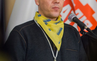 Parubiy is affiliated with various ultra-national movements in the Ukraine.