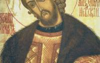 St. Alexander Nevsky stopped the absorption of Russia into Catholic Europe and thus saved the Russian Orthodox faith