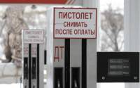 Fuel pumps are seen at a petrol station in the village of Izveshchatelnyy, south of Stavropol
