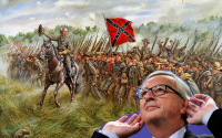 The South will rise again now that they have a secret weapon: an idiot from Luxembourg