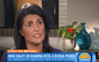 Nikki Haley, moments before thinking 'I miss waffles'