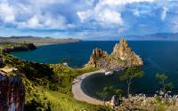 Famous Shaman cape of Baikal is a must-visit place
