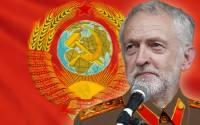 Jeremy, in his fancy Labour Party uniform