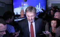 Press Secretary of the President of Russia Dmitry Peskov (center). Photo: TASS, Mikhail Metzel