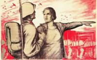 Hit harder my son - WW2 Soviet Poster