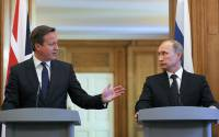 Cameron deliberately seeks to irritate Putin