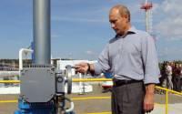 Putin opens the valves...