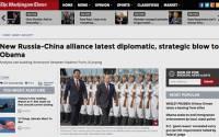 «Новый российско-китайский альянс — последний дипломатический и стратегический удар по Обаме» | Источник: The Washington Times