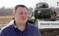 "Alexander Konovalov, head of ""Rearguard"" restoration workshop"