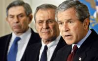 Wolfowitz, Rumsfeld, Bush - the good old days