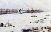 Painter Vassily Vereshagin: Russian army triumphs victory over Turkey in 1878