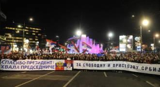 120,000(!) Serbs Gather to Welcome Putin on Belgrade Visit -- VIDEO