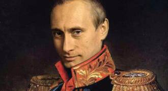Much Ado About Putin's Decline Ratings but He Remains Substantially More Popular Than Western Leaders