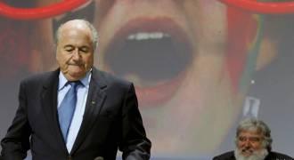 А Блаттер остается ...руководить ФИФА?