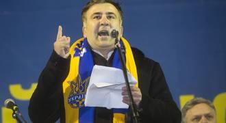 И еще о похождениях бравого президента Саакашвили во времена цветных революций