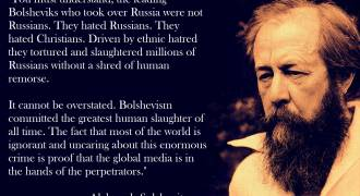 Alexander Solzhenitsyn's Critical History of Jews in Russia - a Brief Comment from Ron Unz