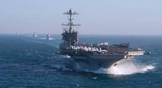 NATO Supreme Commander: US Carrier Group in North Sea Puts Russia 'On Notice'