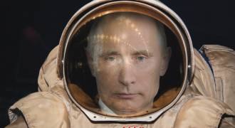 Putin in space: nothing to do with our article, but oh well