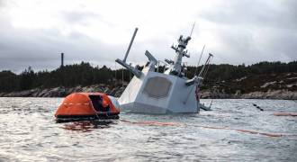 NATO Drills Fallout: Norwegian Frigate Is Pretty Much Toast