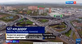 Moscow's Astonishing Infrastructure Boom - 25 New Metro Stops, Massive Roads, Tunnels, Bridges (Russian TV Video)