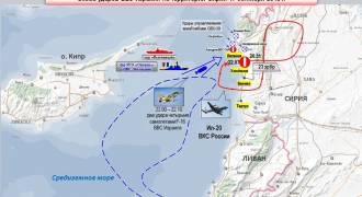 Russian Il-20 Downed by Syrian Missile After Israeli F-16s Used It as Cover During Attack – Mod