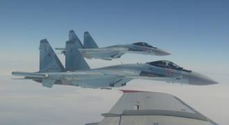 Russian Su-35 Tracked a US F-22 Stealth Fighter Over Syria With Infra-Red Sensors