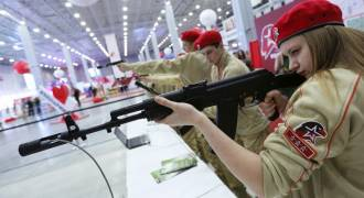 Russia's 'Youth Army' Has Half a Million Young Fighters for the Fatherland