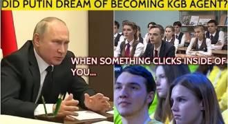 Putin Reveals Childhood Dream Job, Advises Students on Career Choice (Russian TV News)