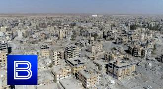 Shock Video as Russians Enter Syria's Raqqa, a '2nd Dresden' After US Saturation Bombing (Russian TV News)