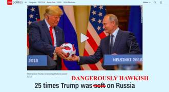 25 Times Trump Has Been Dangerously Hawkish On Russia