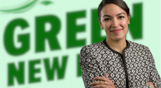 The Green New Deal: Take White People's Money and Give It to Minorities