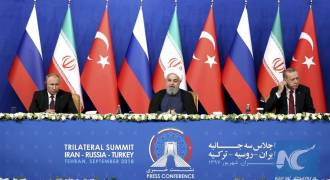 Valentine's Day Summit: Putin, Erdogan, Rouhani to Meet in Sochi