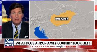 Hungary's FM Disses Pompeo, Goes on Tucker Carlson Who Cheers His Pro-Family Policies