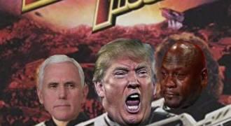 Space War Now! Trump Preparing for Intergalactic Combat Against Russia.