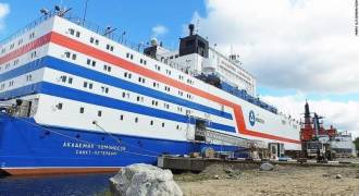 Russia Launches Floating Nuclear Power Plant Bound For The Arctic
