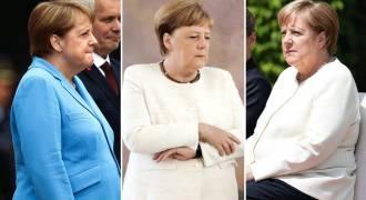 Merkel's Weird Shaking in Public Spells THE END of Her Imploding Career