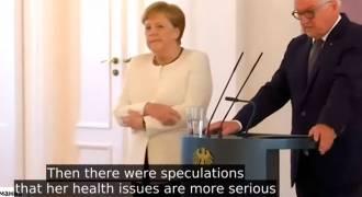 Russian TV: In-Depth Segment on Merkel's Weird Shaking in Public