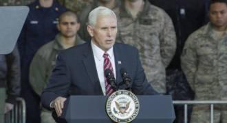 Brainwashing in Action: Pence Hails Virtue of 'Certain War'