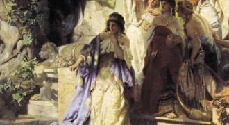 GREAT RUSSIAN ART - 'The Sinner' (Genrikh Semiradsky, 1873)