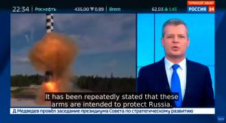 Leading US Military Magazine Says Russia Years Ahead in Missile Technology (Russian TV News)