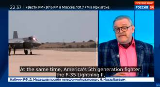 Russian TV Explains Why the US Is Hopelessly Behind Russia in Fighter Jets (Video)