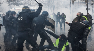 Globalism's Last Disgrace: Desperate Macron Sends French Army Against Yellow Vests